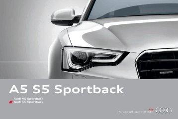 Brosjyre Audi A5 Sportback