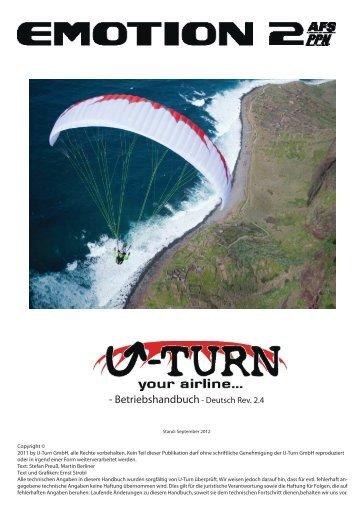 EMOTION 2 Handbuch rev 2.4.indd - U-Turn Paragliders