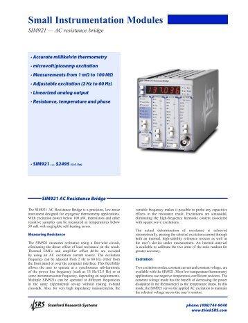 sr510 lock in amplifier manual