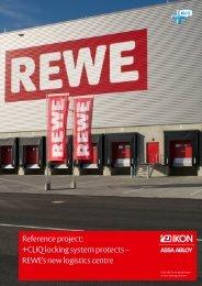 REWE logistic centre - Assa Abloy