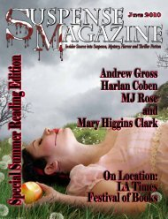 Special Summer Reading Edition - Suspense Magazine