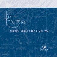 SURREY STRUCTURE PLAN 2004 - Surrey County Council