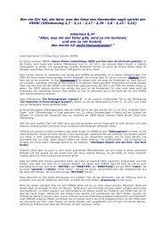 Die Rettungsinseln Yeschua - Jesus Christus Evangeliumdienst