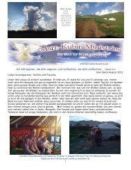 Newsletter August 2012 von Marc Kubin - Jesus-Christus ...