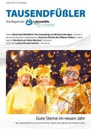 2015 Januar / Lebenshilfe Freising / Tausendfüßler-Magazin