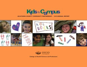 An Athens County Community PArtnershiP • 2010 ... - Ohio University