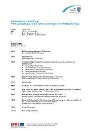 Programm, Anmeldung und weitere Informationen - Thüringen ...