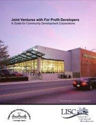 Joint Ventures with For Profit Developers - Burlington Associates