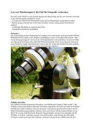 Low-cost Montierungen-2: Die EQ3 für Fotografie ... - Teleskop