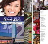 {Shopping} {Wegweiser} - Stadtführer-Dietzenbach