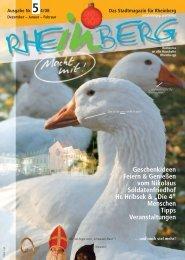 Januar – Februar - Stadtmagazin Rheinberg