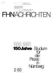 FHNACHRICHTEN - Ohm-Hochschule Nürnberg