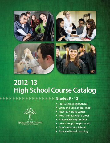 High School Course Catalog 2012-13 - Spokane Public Schools