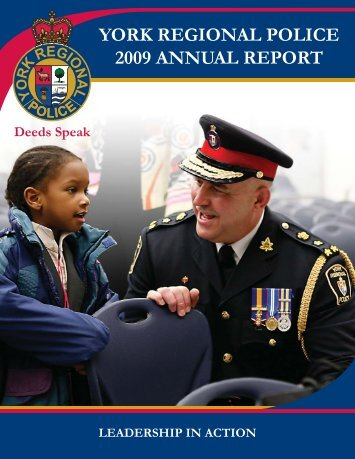 Annual Report-2009-Cover.indd - York Regional Police