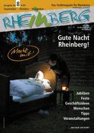 Gute Nacht, Rheinberg - Stadtmagazin Rheinberg
