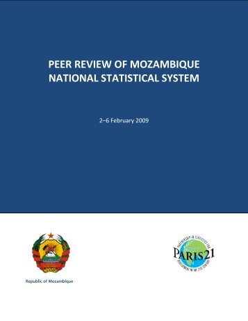 Peer Review of Mozambique National Statistical System ... - Paris21