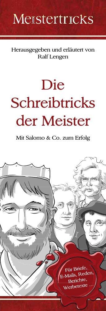 Mit Salomo & Co. zum Erfolg Herausgegeben und ... - Meistertricks