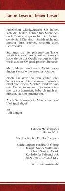 Mit Salomo & Co. zum Erfolg Herausgegeben und ... - Meistertricks - Seite 2