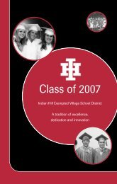 Class of 2007 - Indian Hill School District