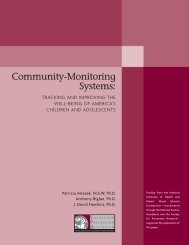 Community-Monitoring Systems: - Society for Prevention Research