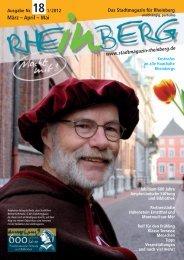 Stadtmagazin_Rheinbe.. - Stadtmagazin Rheinberg