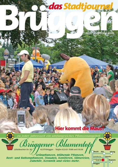 Hier kommt die Maus! - Stadtjournal Brüggen
