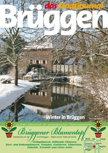 Winter in Brüggen - Stadtjournal Brüggen