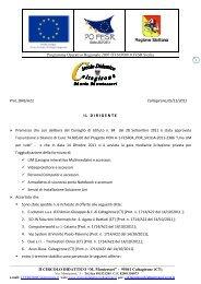 Graduatoria di merito provvisoria LIM - 2 Circolo Didattico di ...
