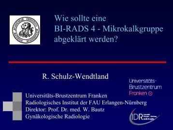 Wie sollte eine BIRADS-Mikrokalkgruppe abgeklärt werden?
