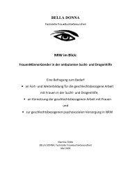 NRW im Blick FrauenMännerGender in der ... - Bella Donna