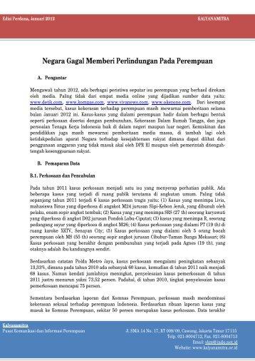 Analisis Media Januari 2012 - Kalyanamitra