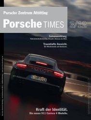Kraft der Identität. Porsche Zentrum Altötting