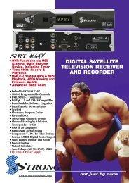 SRT 4664X Brochure - Strong Technologies