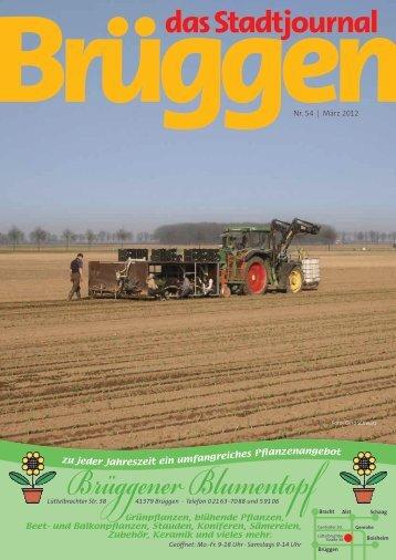Nr. 54 | März 2012 anzenangebot - Stadtjournal Brüggen