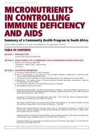 micronutrients in controlling immune deficiency and aids