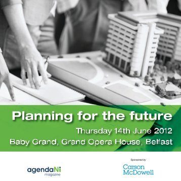 Planning for the future - agendaNi