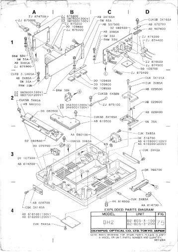 Essex Silver-Line SL8 Parts Diagram