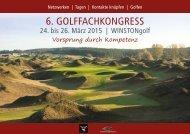 6. Golffachkongress