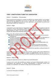 2013 04 05 Projets statuts AGE - Santé au travail 72