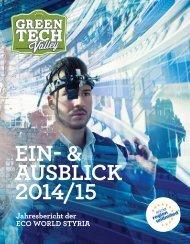 EIN- & AUSBLICK 2014/15