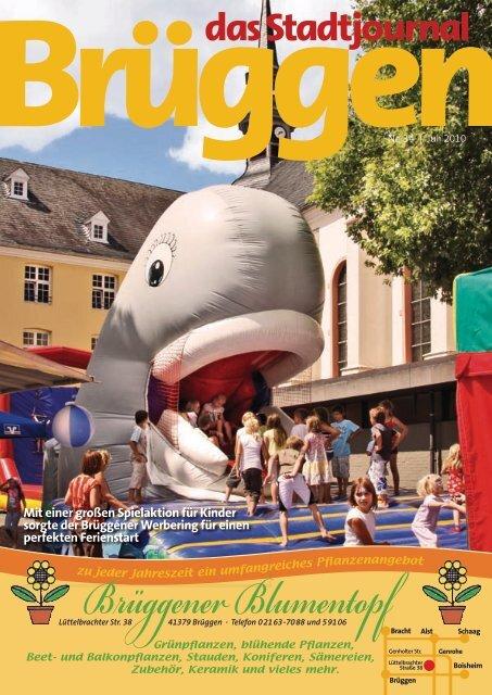 Mit einer großen Spielaktion für Kinder - Stadtjournal Brüggen