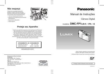 Utilizar o menu - Panasonic