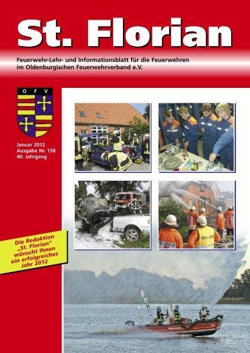 zur Ausgabe 158 - Oldenburgischer Feuerwehrverband eV