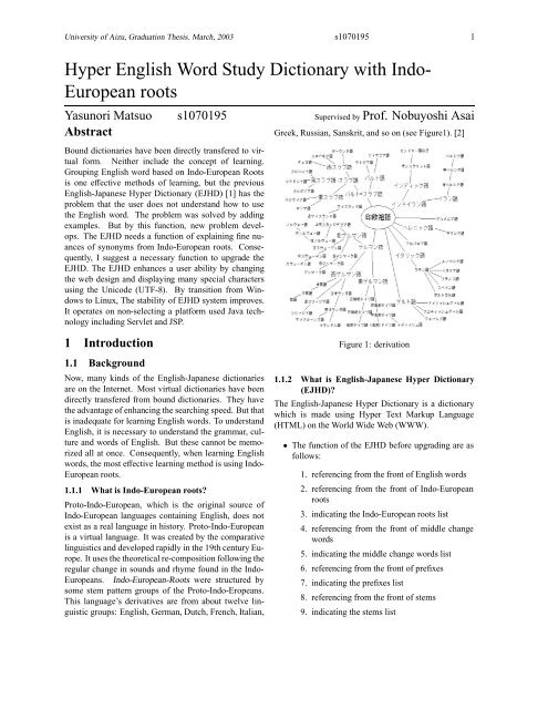 Hyper English Word Study Dictionary with Indo- European roots
