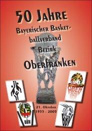 Festschrift - Bezirk Oberfranken - BBV