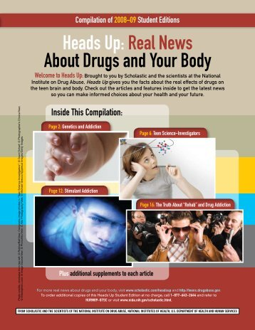 Heads Up:Real News About Drugs and Your Body - Scholastic