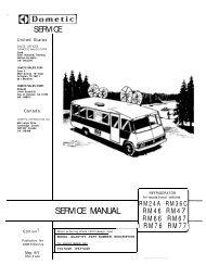 Download Dometic Electrolux General Fridge Repair Manual