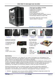 HIGH END PC Intel Quad Core 4x2.5Ghz PC - SYSTEME PSILCOM ...