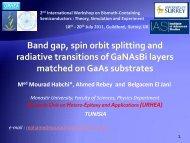 Band gap, spin orbit splitting and radiative transitions of GaNAsBi ...