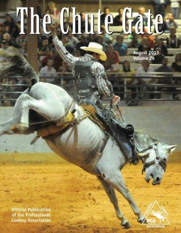August 2013 / Volume 26 - Professional Cowboy Association